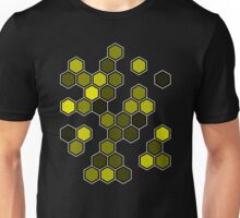 Yellow Honeycomb Unisex T-Shirt