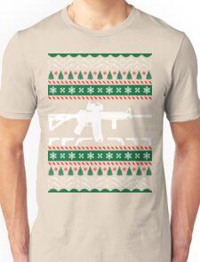 Ar 15 ar15 ugly christmas sweater xmas Unisex T-Shirt