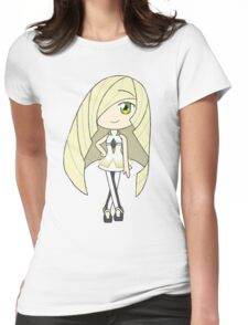 Pokemon Sun/Moon Lusamine Womens Fitted T-Shirt