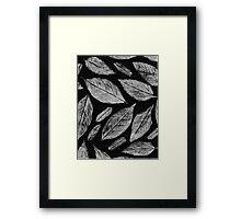 The leaves from my Garden Framed Print
