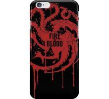 Targaryen House Game of thrones Shirt iPhone Case/Skin