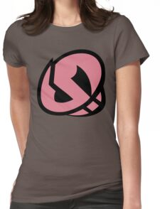 Team Skull Plumeria Womens Fitted T-Shirt