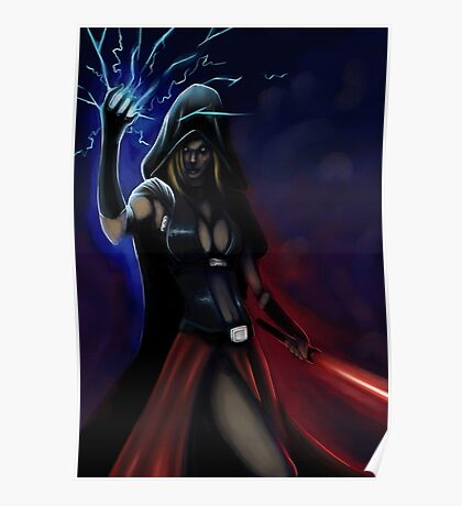 Sith Cosplay Poster