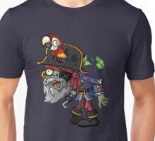 Pirate Captain Zombie Unisex T-Shirt