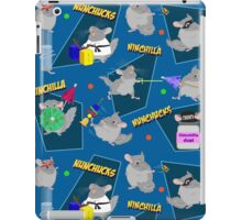NinChilla Nunchucks In Blueberry iPad Case/Skin