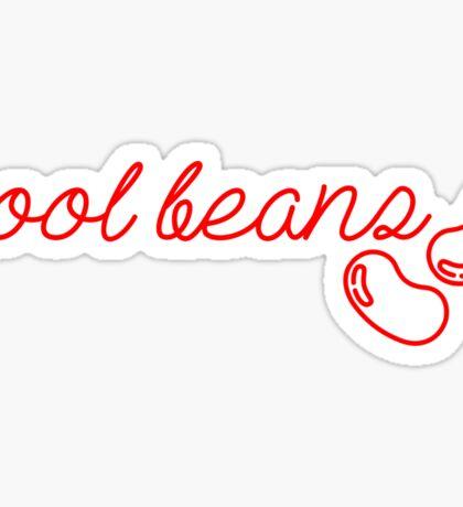 cool beans Sticker