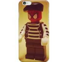 Spider-Mime iPhone Case/Skin