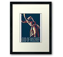 God of Mischief  Framed Print