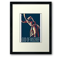 God of Mischief  Framed Print