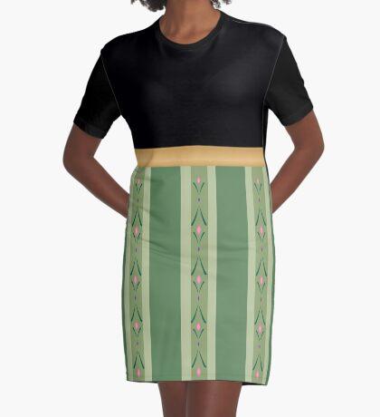 Nordic Princess  Graphic T-Shirt Dress