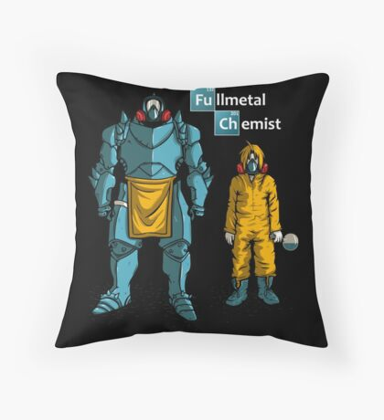 Fullemetal Chemist T-shirts Throw Pillow