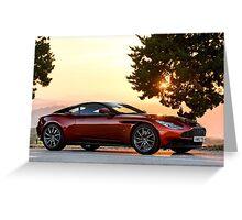 Aston Martin DB11 Greeting Card
