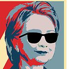 Hillary Clinton A Nasty Woman Vote In 2016 by evagaruntang