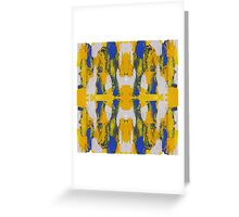 Abstract Expression #10 by Michael Moffa Greeting Card