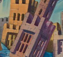 Floating Castles Sticker