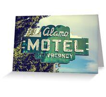 Alamo Hotel Greeting Card