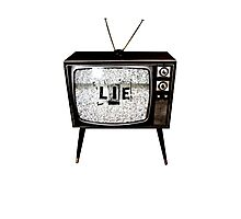 TV Lie Photographic Print