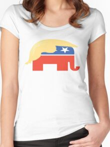 Trump 3 Women's Fitted Scoop T-Shirt