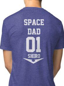 Voltron - Space Dad White Tri-blend T-Shirt