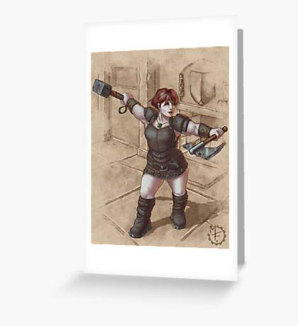 Dwarf Rogue Greeting Card