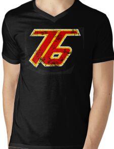 76 Filter Mens V-Neck T-Shirt