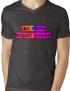 JP Right Thurr Mens V-Neck T-Shirt