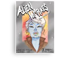 Alien Vampires from outer space! Canvas Print