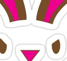 Easter rabbit I'm here to STEAL your CHOCOLATE Sticker