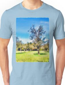 Trees in a Row Unisex T-Shirt