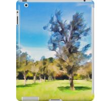 Trees in a Row iPad Case/Skin