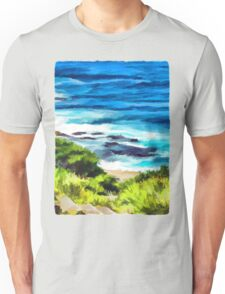 Water on the Rocks 1 Unisex T-Shirt