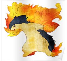 Typhlosion- The Volcano Pokemon Poster