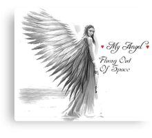 My Angel, Flung out of Space Metal Print