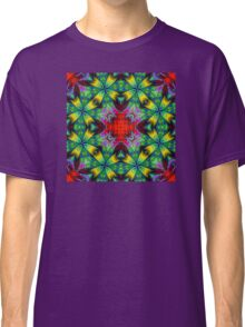 """""""Android Heart"""" Kaleidoscope -Love Your Droid Classic T-Shirt"""