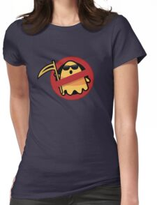awesome halloween design Womens Fitted T-Shirt