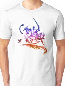°FINAL FANTASY° Final Fantasy X-2 Rainbow Logo Unisex T-Shirt