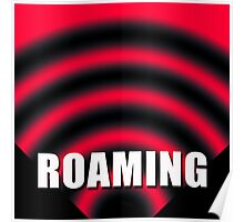 Roaming Symbol by Jan Marvin Poster