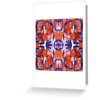 Abstract Expression #12 by Michael Moffa Greeting Card