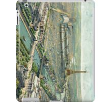 Vintage Pictorial Map of Paris (1900) iPad Case/Skin