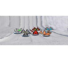 Winter Race Photographic Print