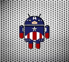Steel Captain America Samsung by LumpyHippo