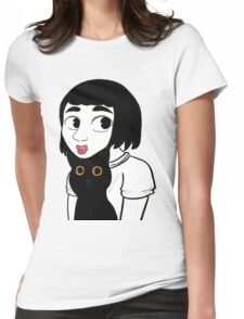 Cat Love Womens Fitted T-Shirt