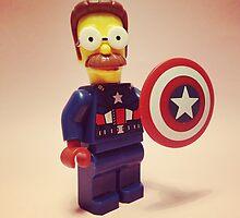 Flanders / Captain America by DannyboyH