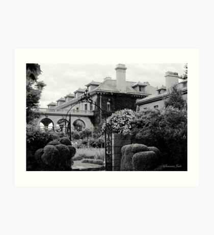 Eolia ~ a Mansion that Faces the Sea Art Print
