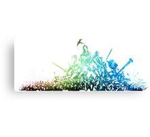 °FINAL FANTASY° Final Fantasy XI Rainbow Logo Canvas Print
