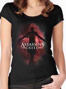 The Creed of the Assassins Women's Fitted Scoop T-Shirt