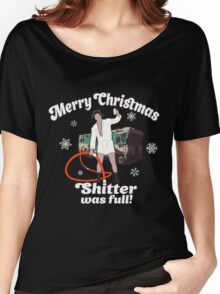 Cousin Eddie Shitter Was Full T-Shirt Women's Relaxed Fit T-Shirt