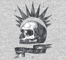Chloe Price - Misfit Skull One Piece - Short Sleeve