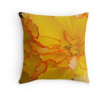 Bewitching Begonia Throw Pillow