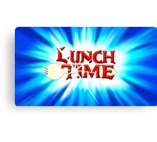Lunch Time Canvas Print